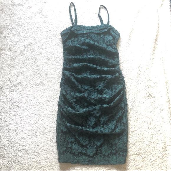Moda International Dresses & Skirts - Moda International Green Lace Bodycon Dress 12